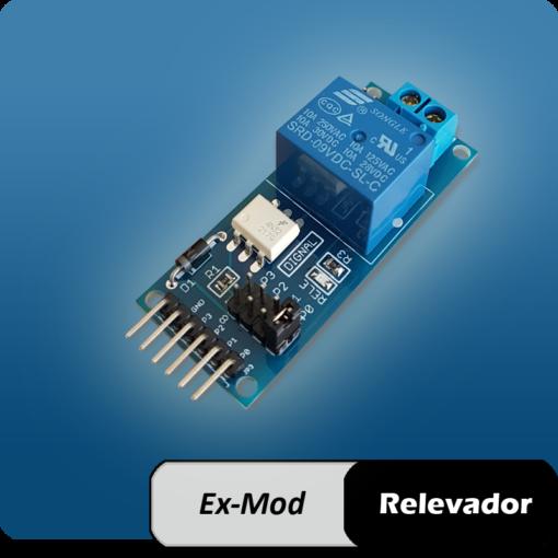 relevador con microcontrolador